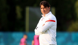 'Unfair': Croatia manager Zlatko Dalic believes his side have been treated unfairly over the application of Covid-19 rules at Euro 2020 Creator: Damir SENCAR