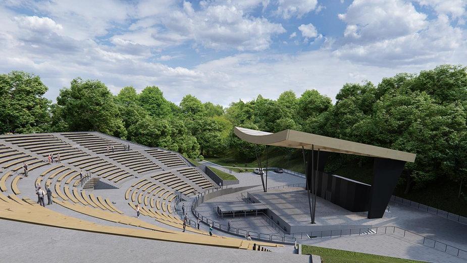 Przebudowa amfiteatru w Stargardzie już niedługo [WIZUALIZACJE]