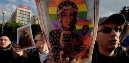 Komorowski zabrał głos ws. Matki Boskiej z tęczową aureolą