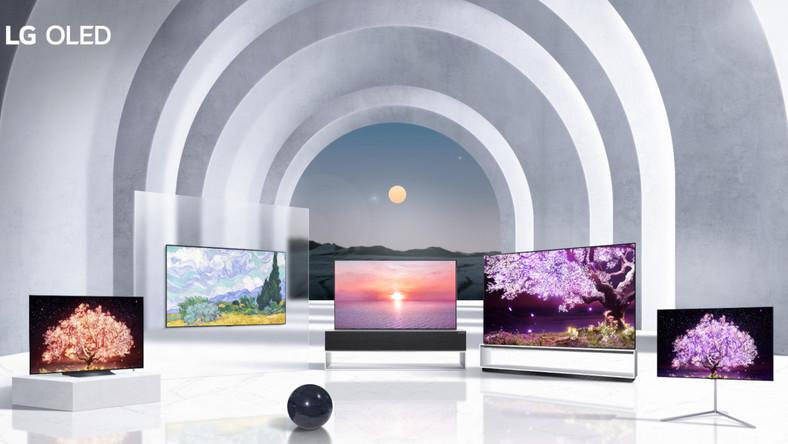 Nowe modele telewizorów LG