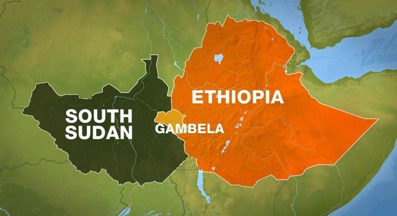 Ethiopia and South Sudan