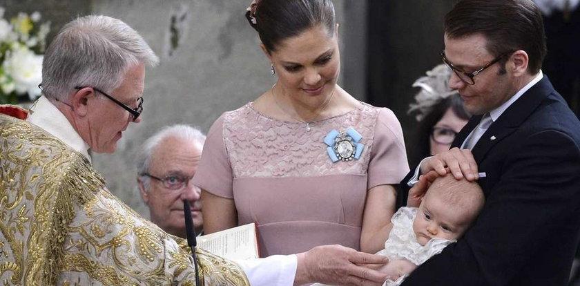 Książęca para ochrzciła dziecko. FOTY