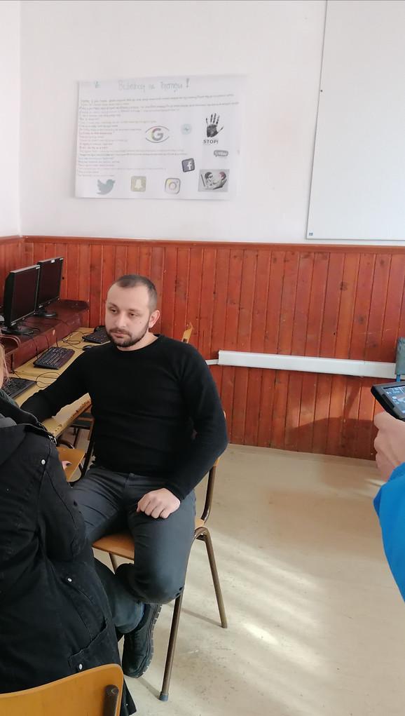 Profesor informatike Filip Klain, koji je osmilio