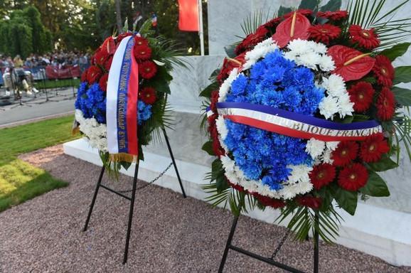 Položeni venci kod Spomenika zahvalnosti Francuskoj na Kalemegdanu
