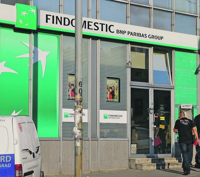 Svetski brend: Findomestik je bio član BNP Paribas