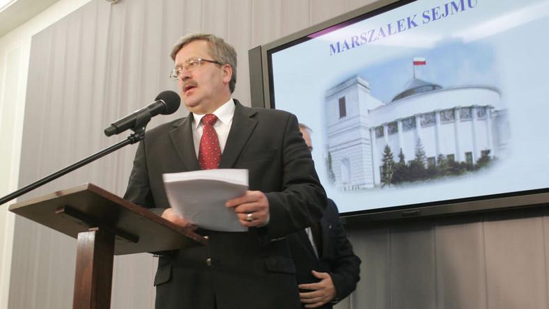 Komorowski: Najlepiej by było, gdyby Ziobro sam zrzekł się immunitetu