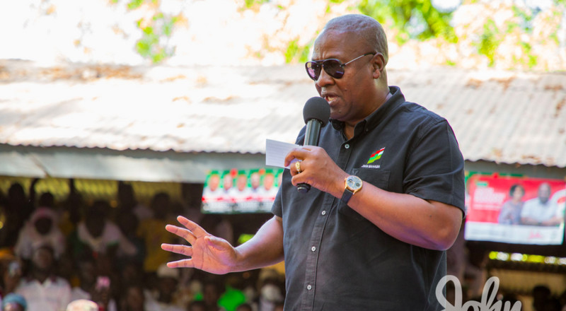 Election 2020: I'm not perturbed by polls calling victory for Akufo-Addo – Mahama
