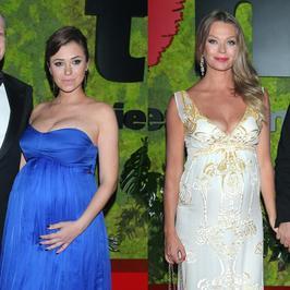 Ciążowe krągłości na Balu Fundacji TVN. Która z pań wyglądała lepiej?