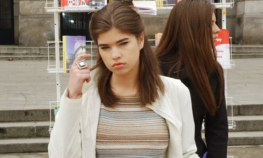 Aleksandra Niżyńska porzuciła aktorstwo dla kariery naukowej.