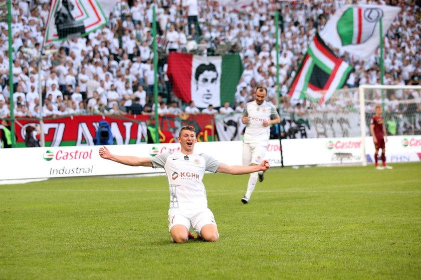 Pilka nozna. Ekstraklasa. Legia Warszawa - Zaglebie Lubin. 19.05.2019