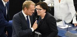 Tajemnicze spotkanie Tuska z Kopacz na zapleczu PE