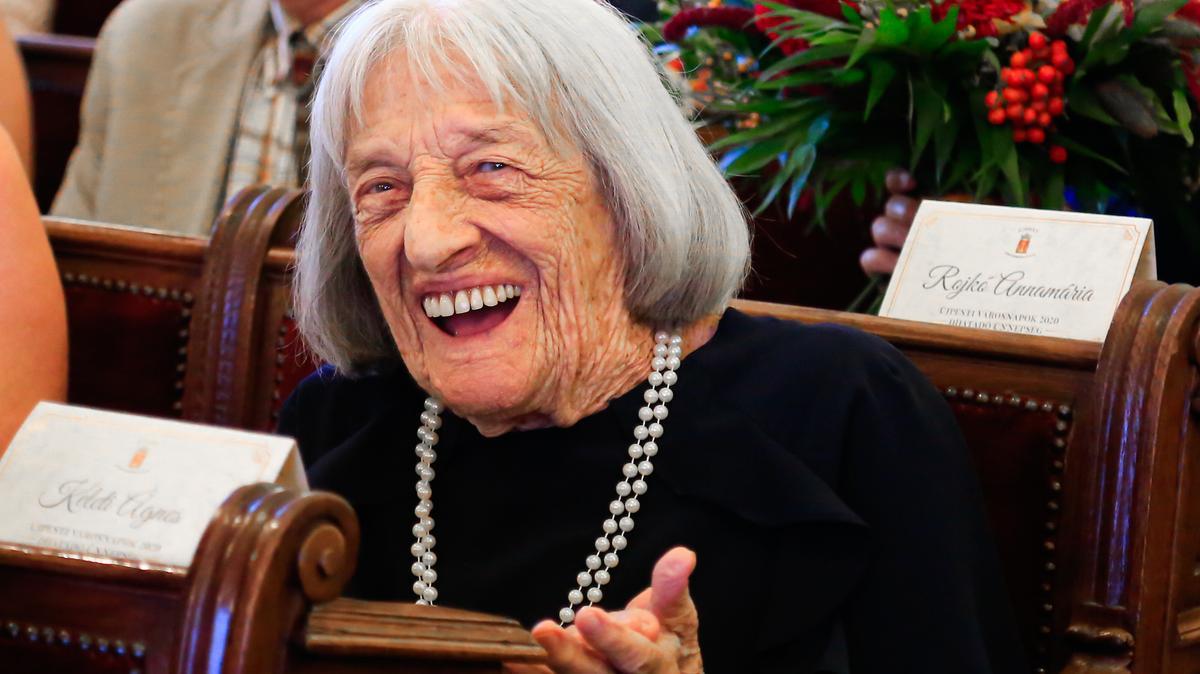 """""""A lelkem 18 éves, szeretek élni"""" – 100. születésnapját ünnepli a legenda – Isten éltesse sokáig Keleti Ágnest!"""