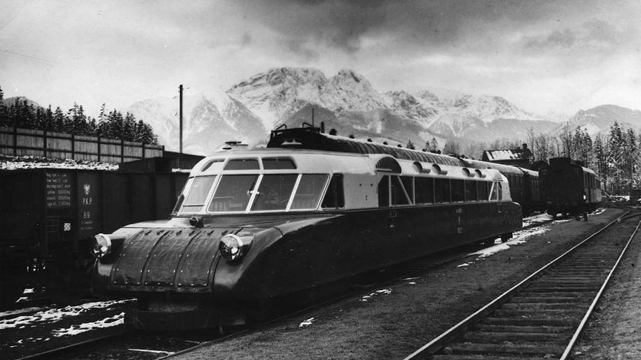 Historia linii kolejowej do Zakopanego. Pociąg Luxtorpeda na trasie Kraków Zakopane i niepobity rekord prędkości z 1936 r.
