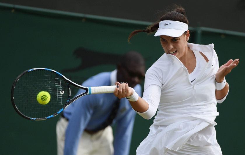 Agnieszka Radwańska mocno namęczyła się w II rundzie Wimbledonu