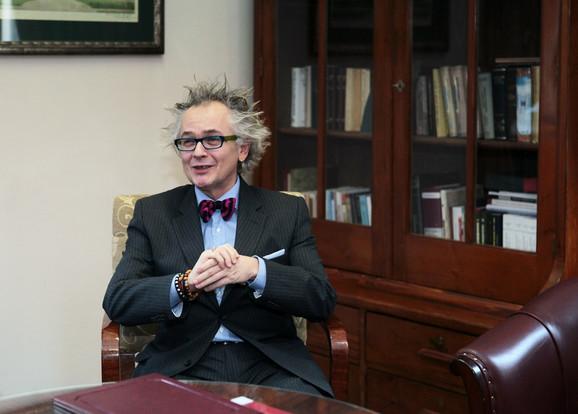 Ministar kulture i informisanja Ivan Tasovac