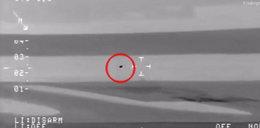 UFO leciało nad Atlantykiem? Wideo