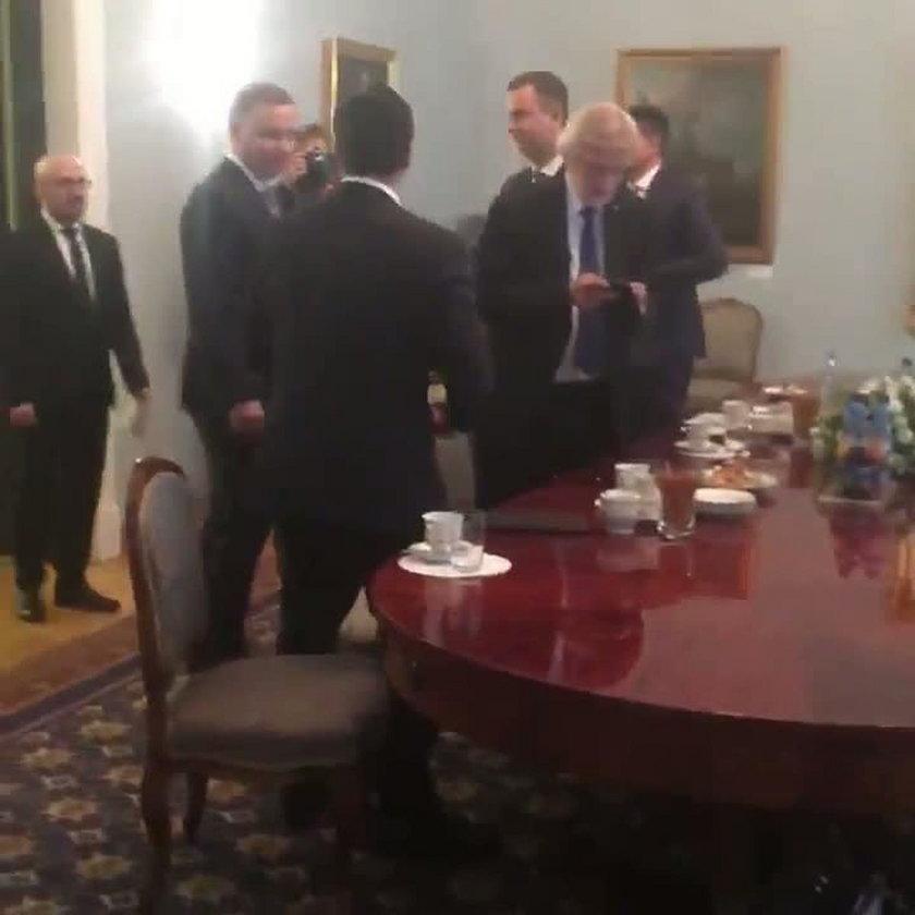 Konsultacje u Prezydenta Andrzeja Dudy w sprawie zmiany konstytucji