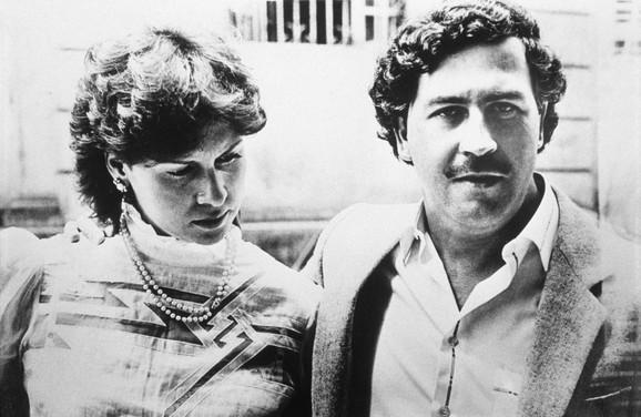 Pablo Eskobar (1949-1993) bio je u braku sa Viktorijom Egenijom: Ova slika je iz 1983.