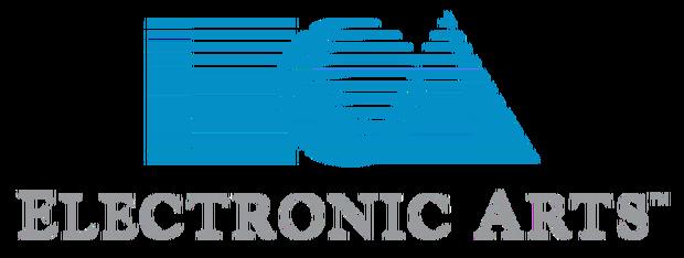 Historyczne logo EA z 1982 roku