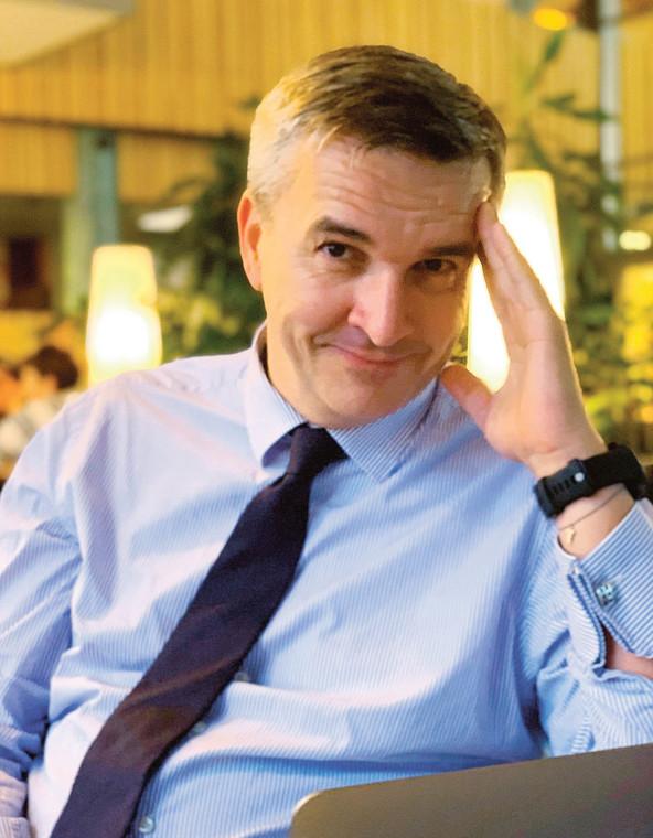 Rafał Dębowski, sekretarz Naczelnej Rady Adwokackiej  fot. Materiały prasowe