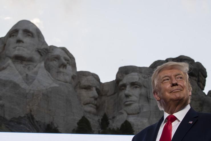 Donald Tramp, govor, Maunt Rašmor