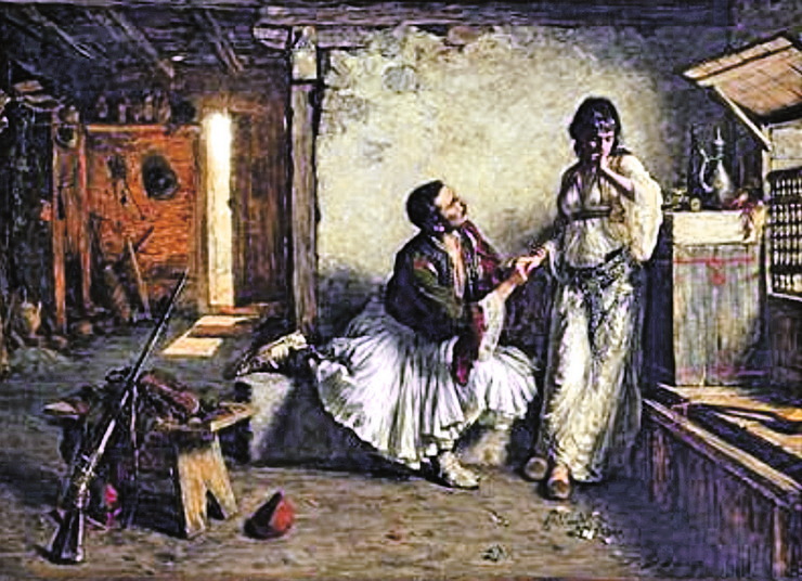 """Slika """"Prosidba"""" Paje Jovanovića"""