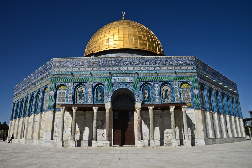 Jerozolima -  Kopuła na skale