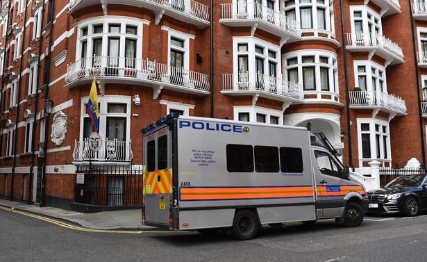 aresztowanie Juliana Assange'a