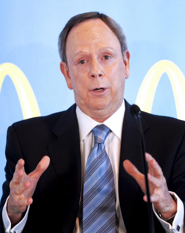 James Skinner, wicedyrektor McDonald's.