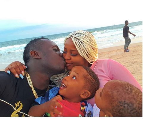 Duncan Mighty's wife gave birth to their third child a few months ago [Instagram/DuncanMighty]