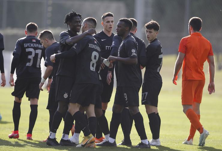 Detalj sa meča FK Partizan - Zaglebje