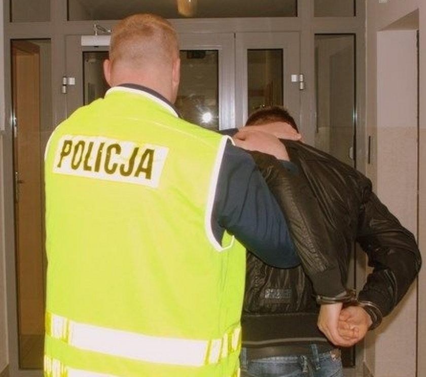 zatrzymany za kradzież 26-latek z Kartuz