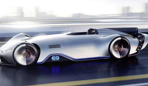 Mercedes-Benz pokazał koncept EQ Silver Arrow