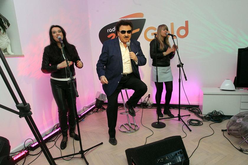 Krzysztof Krawczyk śpiewa w domu Pani Małgorzaty