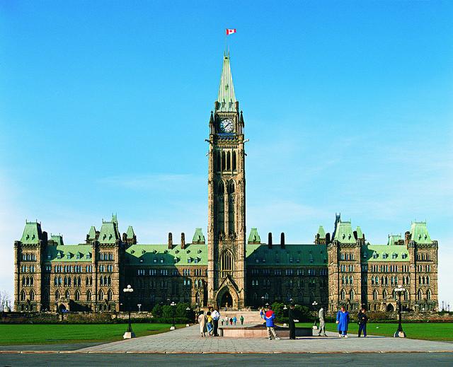 Kanadyjski Parlament w Ottawie