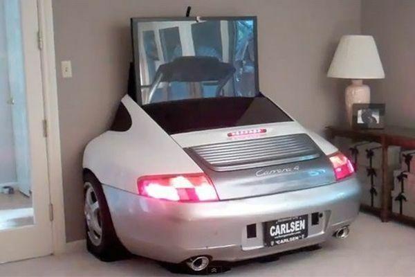 Samochód w domu 4
