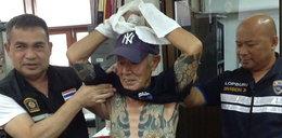Ukrywał się 15 lat. Wpadł przez tatuaże i obcięty palec