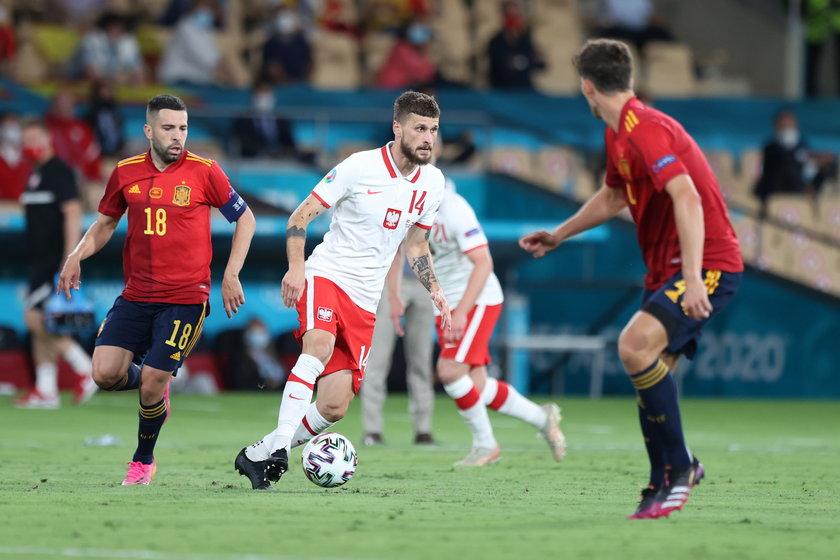 Po dwóch kolejkach mistrzostw Europy to reprezentacja Polski była zespołem, który podjął najwięcej prób pressingu.