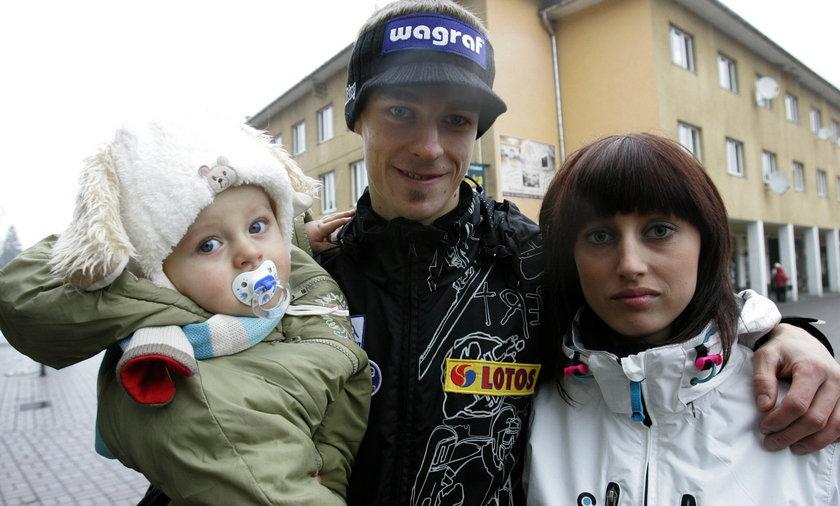 Justyna Lazar-Żyła, żona Piotra Żyły