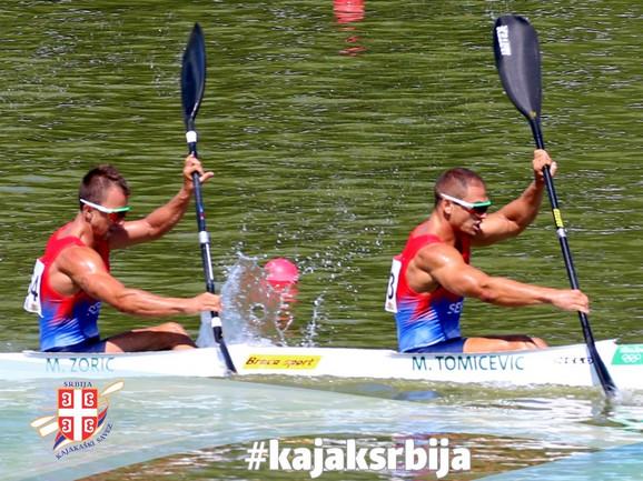 Milenko Zorić i Marko Tomićević