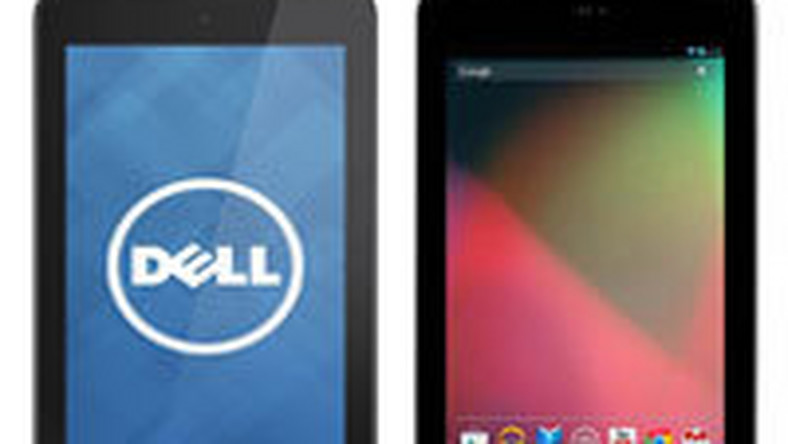 Dell Venue 7 kontra Asus Nexus 7