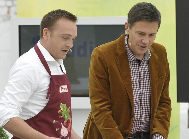 Mateusz Gessler i Krzysztof Ibisz