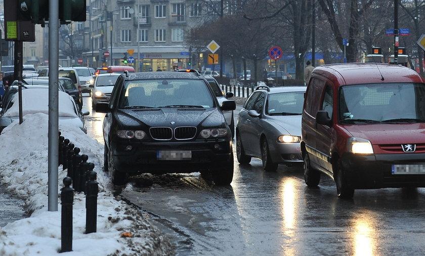 Oleksy wstrzymał ruch w Warszawie!