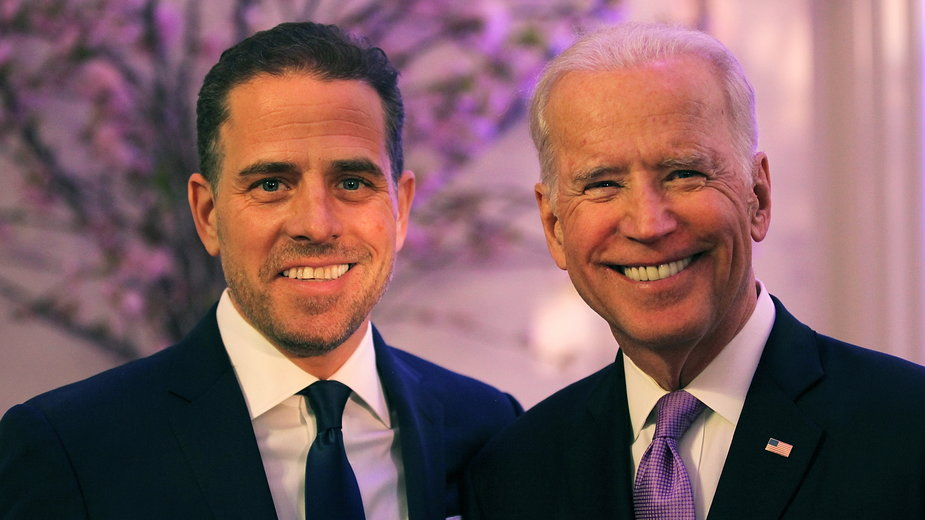 Hunter i Joe Bidenowie