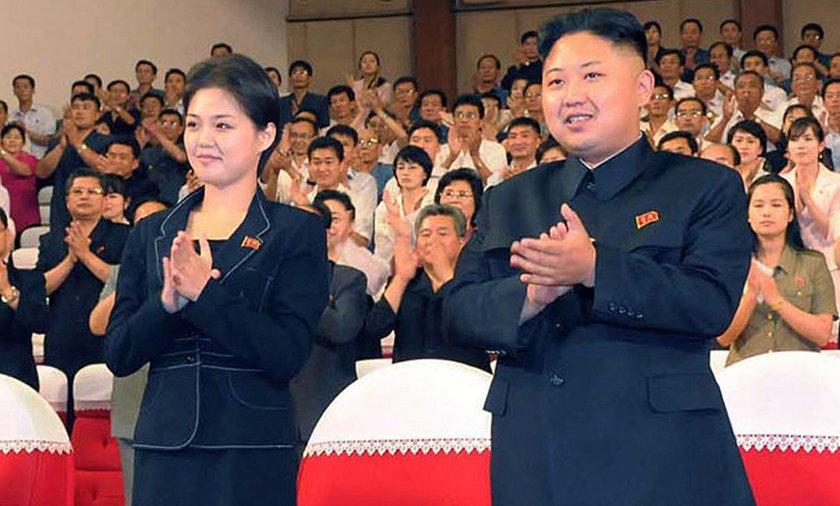 Kim Jong Un prawdopodobnie z kochanką.