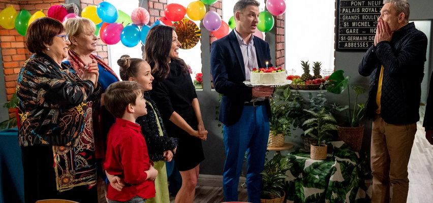 Barwy szczęścia odc. 2500: Urodziny Stefana. A jednak rodzina pamiętała!
