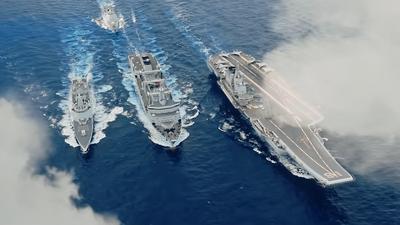 """Marynarka Chin publikuje materiały """"rekrutacyjne"""". Ultranowoczesna flota i myśliwce"""