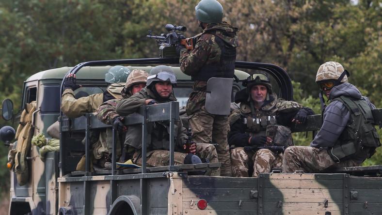 Ukraińskie oddziały ostrzeliwane przez separatystów
