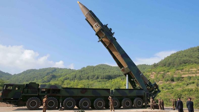Próba rakietowa Korei Płn. z 4 lipca b.r.