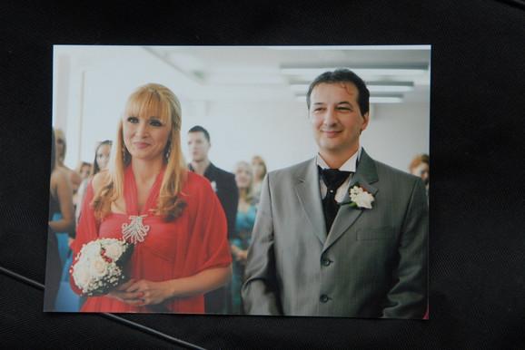 Lidija i Đanluiđi na svom venčanju
